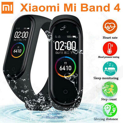 Original Xiaomi Mi Band 4 Smart Watch Bracelet Sport Tracker AMOLED Screen Neu