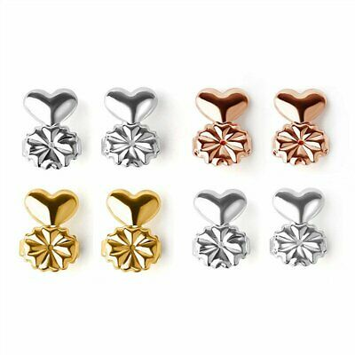 Beautiful Magic Bax Earring Back Lifter Support Lift Hypoallergenic Rose Gold KS