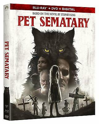 Pet Sematary (Blu-ray Disc, 2019) - Please Read