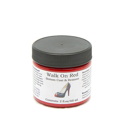 Angelus Brand Walk on Red - Paint for Shoe Soles - 2oz