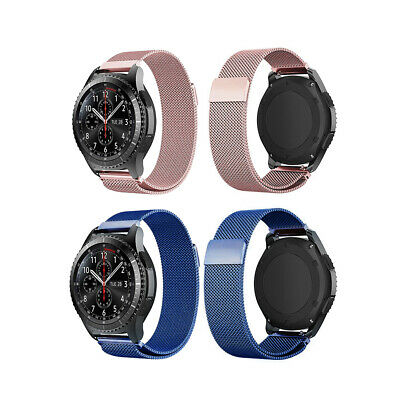 Magnetic Milanese Watch Band Strap For Samsung Gear S3 Frontier / Classic