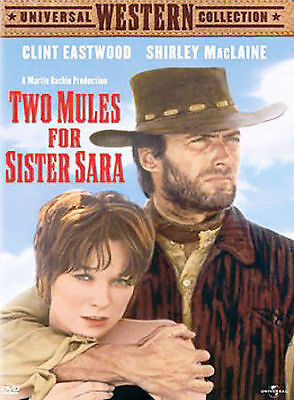 Two Mules for Sister Sara (DVD, 2003). BRAND NEW SEALED