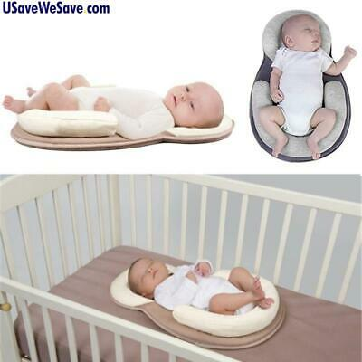 NEW Baby Infant Newborn Anti Roll Pillow Mattress - Sleep Positioning Pad - Prev