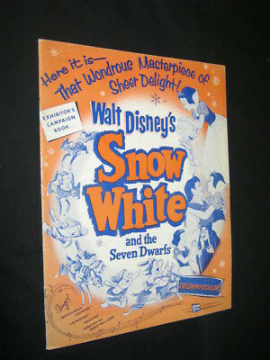 Original SNOW WHITE DISNEY Campaign Guide 28 PAGES