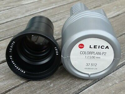 New Leica Colorplan-P2 90mm f2.5 Projection Lens (Code 37512) - Superb!