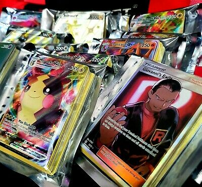 25 x EPIC Pokemon Cards Bundle - Ultra Rare Vmax V Rainbow Hyper EX GX FA BREAK