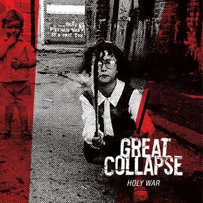 The Great Collapse - Holy War (White) Vinyl LP End Hits Rec. / Cargo NEW