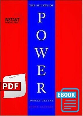 PDF!  The 48 Laws of Power by Robert Greene (PDF, 1st Edition, 2000) #PDF