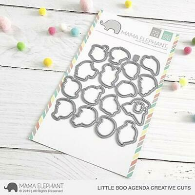 Mama Elephant, Creative Cuts/ Stanzschablone, Little Boo Agenda
