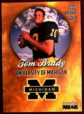 🔥TOM-BRADY INCREDIBLY RARE-1999 College PRE-ROOKIE CARD- ONLY 2000 Made!