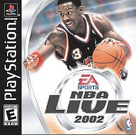 NBA Live 2002 (Sony PlayStation 1, 2001) BRAND NEW SEALED