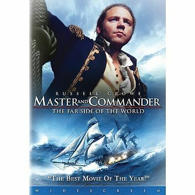 Master and Commander: The Far Side of the World (DVD, 2004, Widescreen) MINT