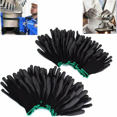 Anti-static Working gloves Supply Nylon Safety Builder Grip Protection