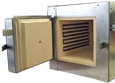 Genuine, Calibrated, Electric Kiln 1100 C (2012 F) With 11.5 C.l. Muffle Chamber
