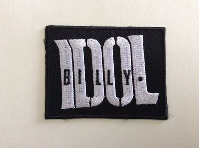 M290 // Ecusson Patch Aufnaher Toppa / Neuf / Billy Idol 8*6 Cm