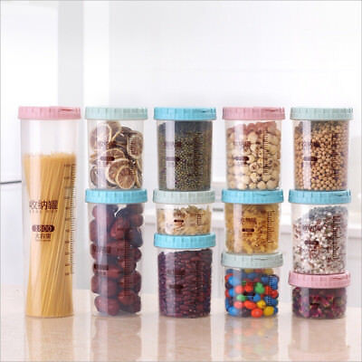 Multifunction Plastic Container Food Seal Box Kitchen Snacks Refrigerated Case