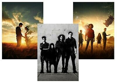 The Darkest Minds: A5 A4 A3  Textless T.V. Posters