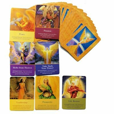 Magic Archangel Oracle Cards Tarot 45 Card Deck Earth Fate Fortune Board Game