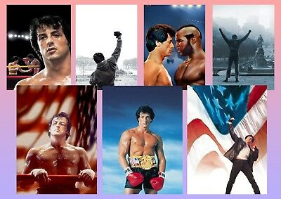 ROCKY BALBOA, MR T Texless Movie Posters A5 A4 A3