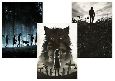 Pet Sematary  A5 A4 A3 Textless Movie Posters.