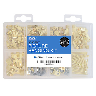 BEEHIVE PICTURE HANGERS, 24 Pack, Measure-Free Installation