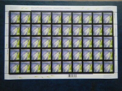 Canada#2234 MNH Pane of 50 'Golden-Eye Lacewing' Lot#AA29