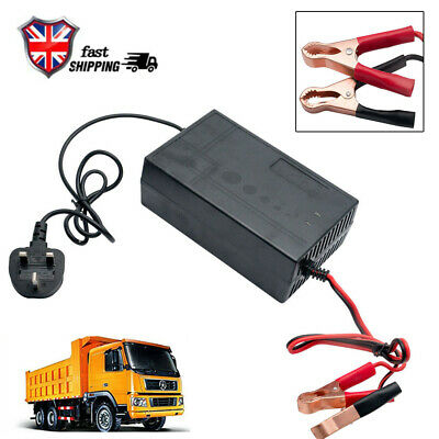 12V 20A Connect and Forget Leisure Battery Charger For Caravan Motorhome Boat