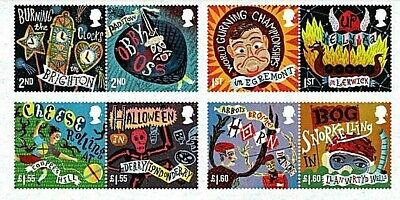 GB Stamps *New Release* 2019 'Curious Customs' - U/M