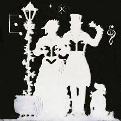 Metal Cutting Dies Christmas Carolers DIY Embossing Card Craft Album Cut Stencil