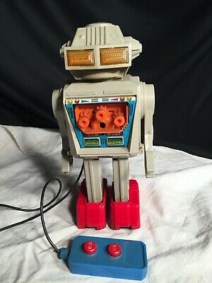 Space Toys Junior Toys Japan The Attacker Roboter um 1965