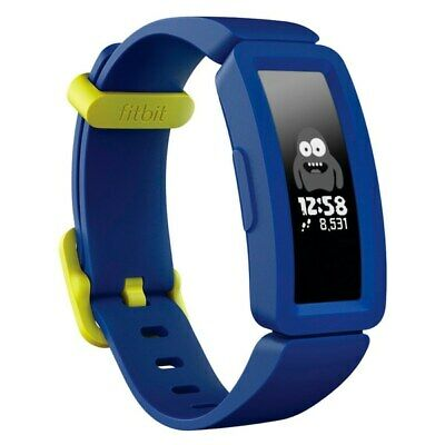 Brand NEW Fitbit Ace 2 Activity Tracker For Kids 6+ - Night Sky With Neon Yellow