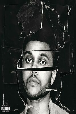 The Weeknd Starboy-Hip-Hop-Rap Art Fabric Poster room decor 24x36 12x18F276