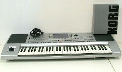 Korg Professional Arranger 61-Key Synth Keyboard Sequencer With Manual PA-80