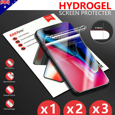 Apple iPhone 11 Pro XS Max XS XR X Crystal HYDROGEL AQUA FLEX Screen Protector