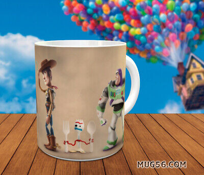 Mug toy story 4 #03 tasse personnalisable woody buzz l'éclair lightyear