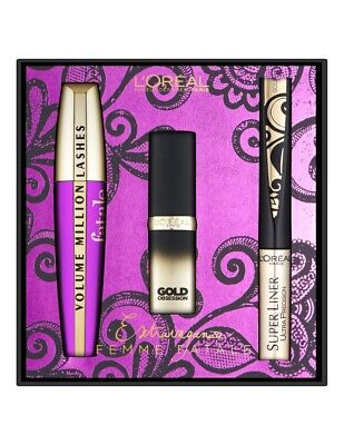 *L'Oreal Extravaganza Femme Fatale Gift Set - Boxed*