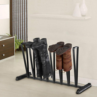 Home Shoe Rack Boot Holder, Wellington Storage Hold Stand Display 3/4 Pairs Unit