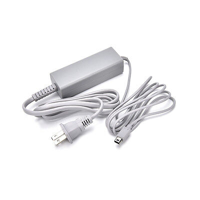 US Plug Home Wall Charger AC Adapter Power Supply For Nintendo Wii U Gamepad WD