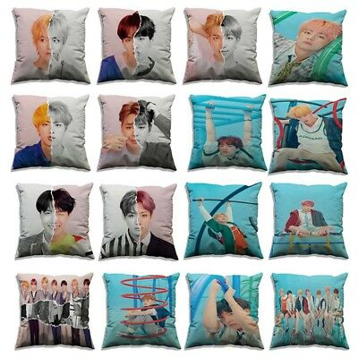 18'' KPOP BTS Pillow Case LOVE YOURSELF 結 ANSWER S-E-L-F Cushion Cover Trend