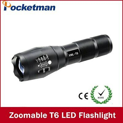 LED Flashlight Tactical Torch Zoomable Flash Light Torch Camping Lamp