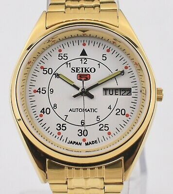 980956ce2 Vintage Citizen Automatic 21 Jewel Gold Plated Day Date Men's Wrist Watch