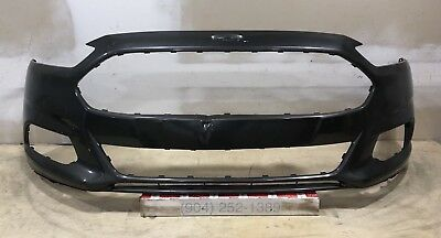 New 2013-2016 Ford Fusion Sensors Tow Hook Front Bumper Cover DS7Z17D957AAPTM