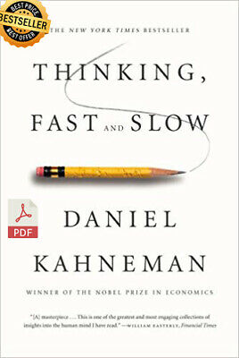 [P.D.F] Thinking, Fast and Slow by Daniel Kahneman⚡Instant Delivery(30s) +Gift🎁