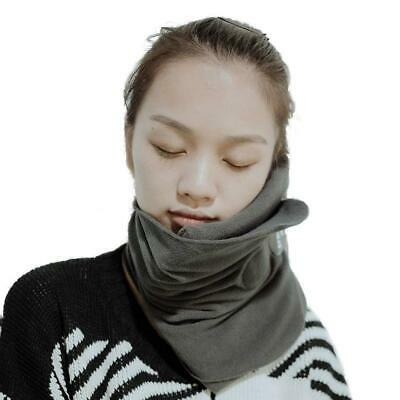 Gentfit Travel Pillow, Scientifically Proven Effective Super Soft Neck Grey
