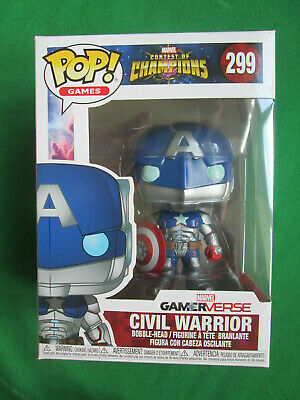 Civil Warrior - Marvel Contest Of Champions #299 - Funko Pop Vinyl Figure