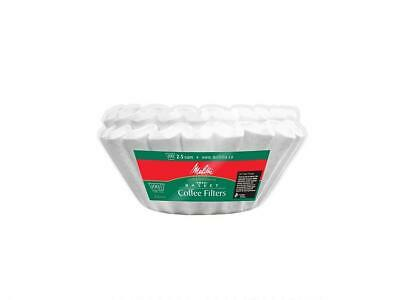 Melitta 629450 Small Basket Coffee Filters for 2-5 cup coffeemakers, Green