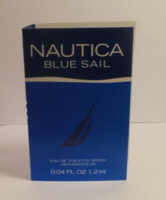 Nautica Blue Sail Cologne Perfume Spray Miniature Test Sample Bottle Vial OZ ML