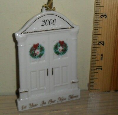 Lenox Christmas Ornament ~ 1st Year in Our New Home ... dated 2000