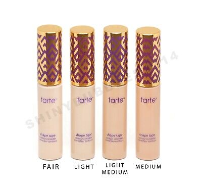 Tarte Shape Tape Double Duty Beauty Contour Concealer 10ml Fair Light Medium NEW