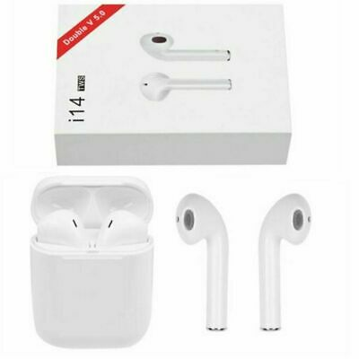 i14 TWS Bluetooth 5.0 Earphone Touch Control Wireless Stereo Earbuds Headphones